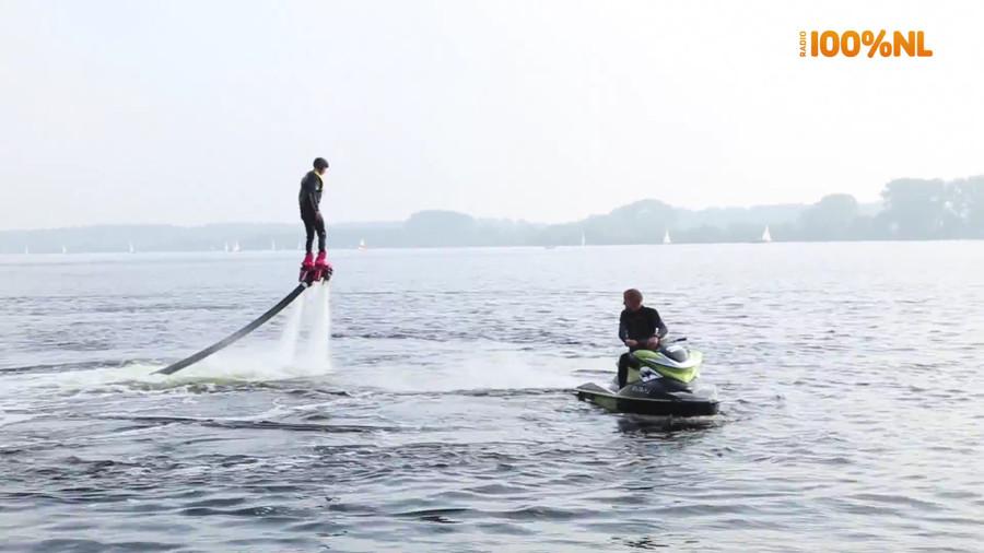 Wens Het & Krijg Het: Flyboarden met Jermain!